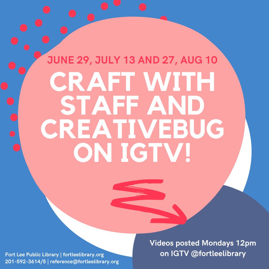 Craft with Staff and Creativebug