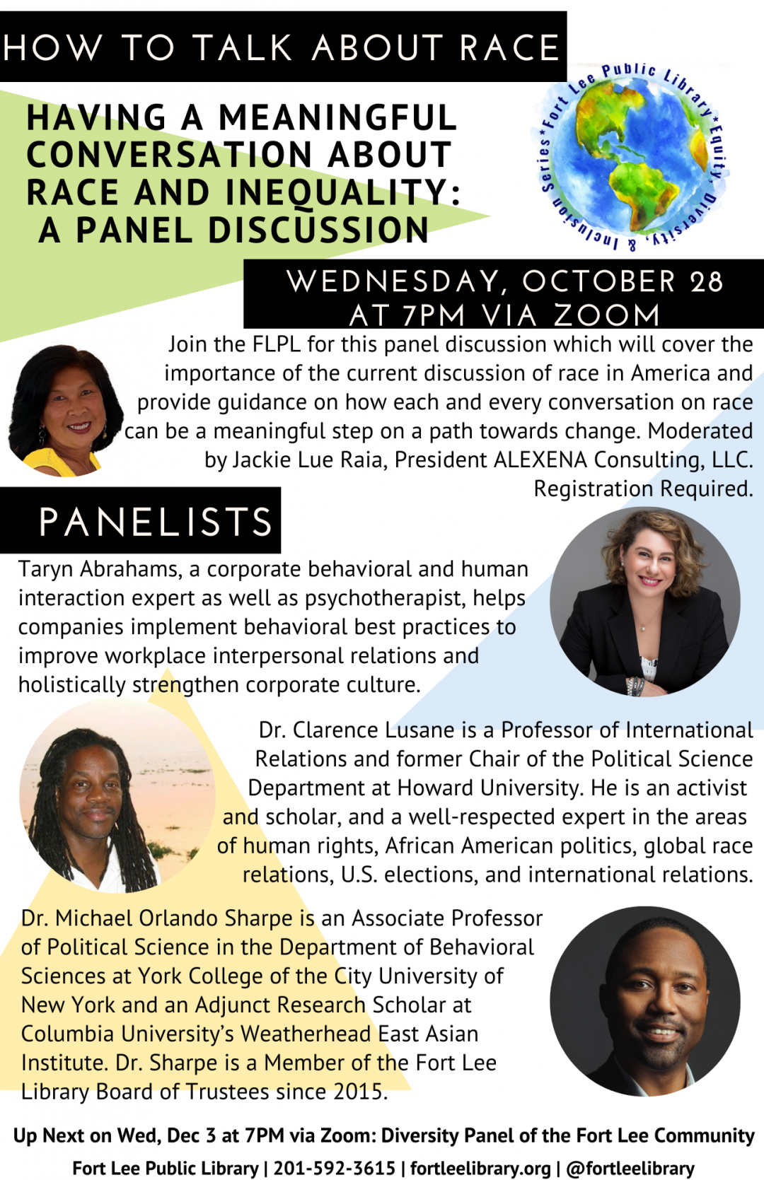 How to Talk About Race: A Panel Discussion