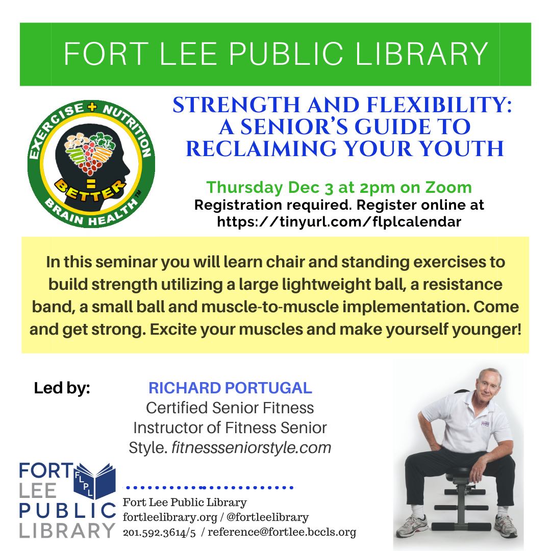 STRENGTH & FLEXIBILITY: A SENIOR'S GUIDE TO RECLAIMING YOUR YOUTH