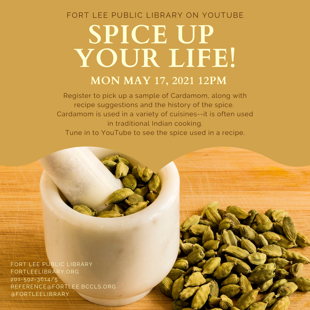 SPICE UP YOUR LIFE: CARDAMON